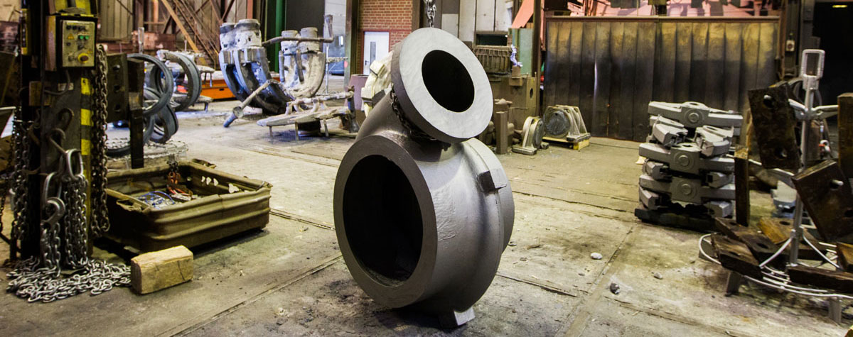 Custom-made steel casting. Everything from one source